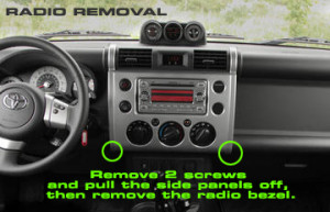 2007 Toyota FJ Cruiser Car Audio Radio Wiring Diagram Aftermarket Install