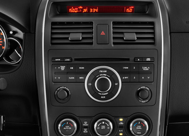 2007 mazda cx 9 cx9 audio stereo radio bose wiring diagram. Black Bedroom Furniture Sets. Home Design Ideas