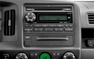 2009 Honda RIdgeline Radio Audio Wiring